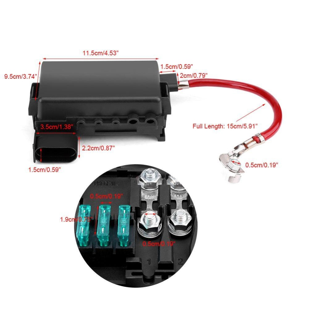 hight resolution of features 100 brand new aftermarket battery fuse holder