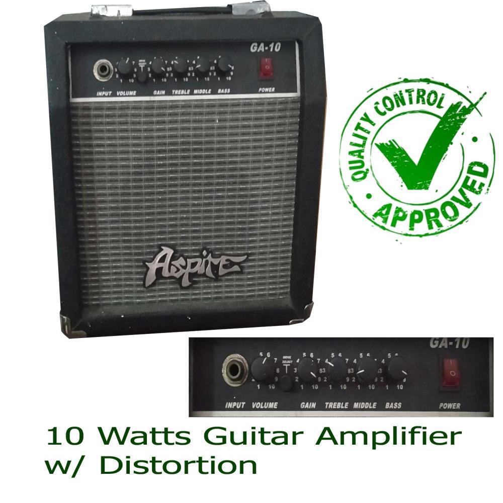 medium resolution of guitar amplifier aspire 10watts ga 10 with overdrive alternative brand to global