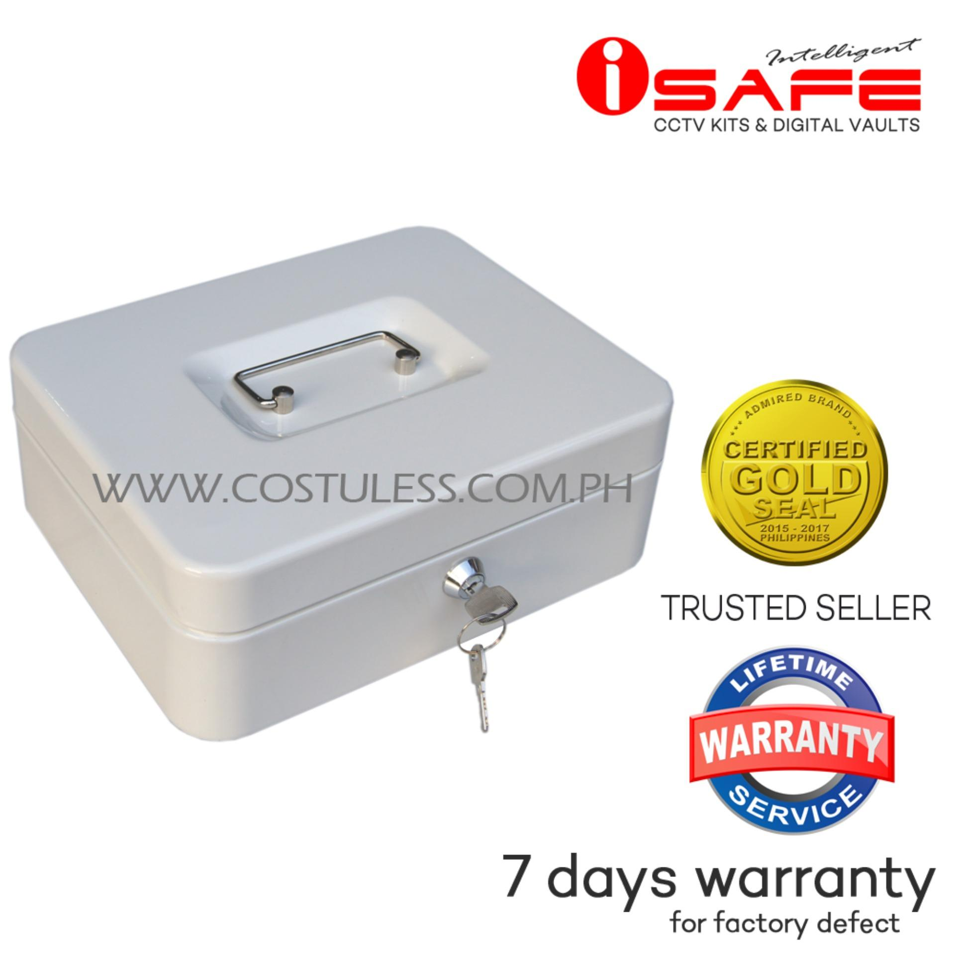 hight resolution of isafe cb m medium steel cash box beige