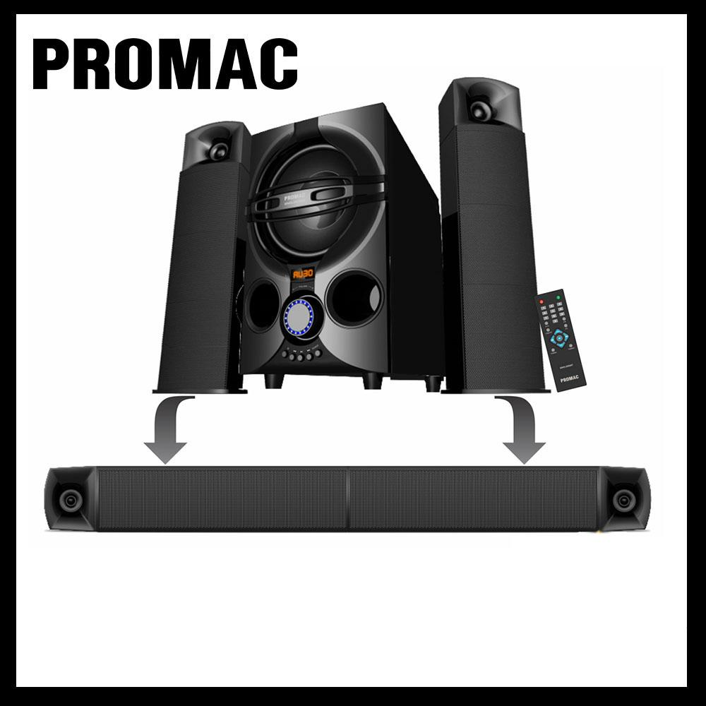 hight resolution of promac mms 2134sbt 2 1 multimedia speaker system with bluetooth