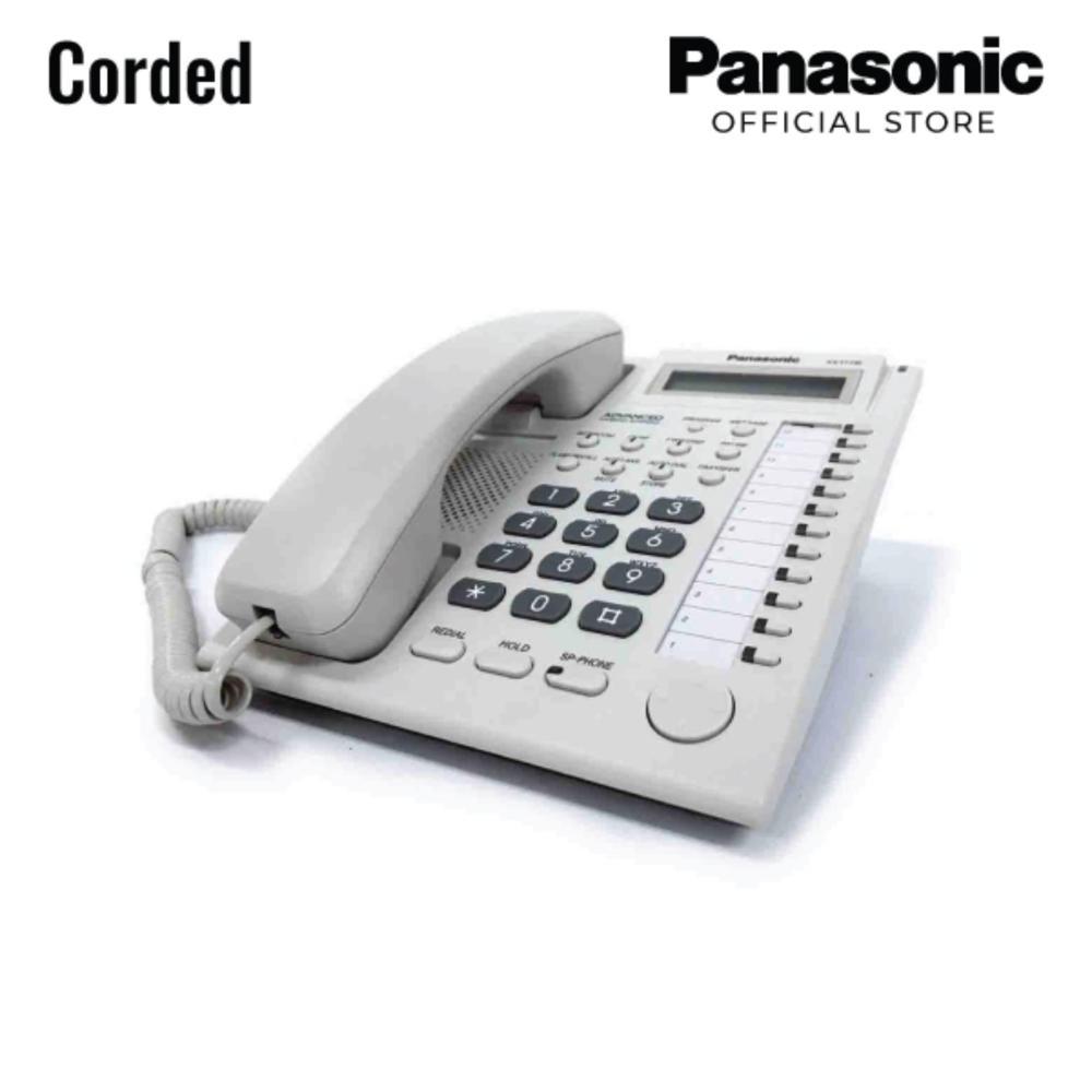 medium resolution of panasonic kx t7730x white proprietary telephone