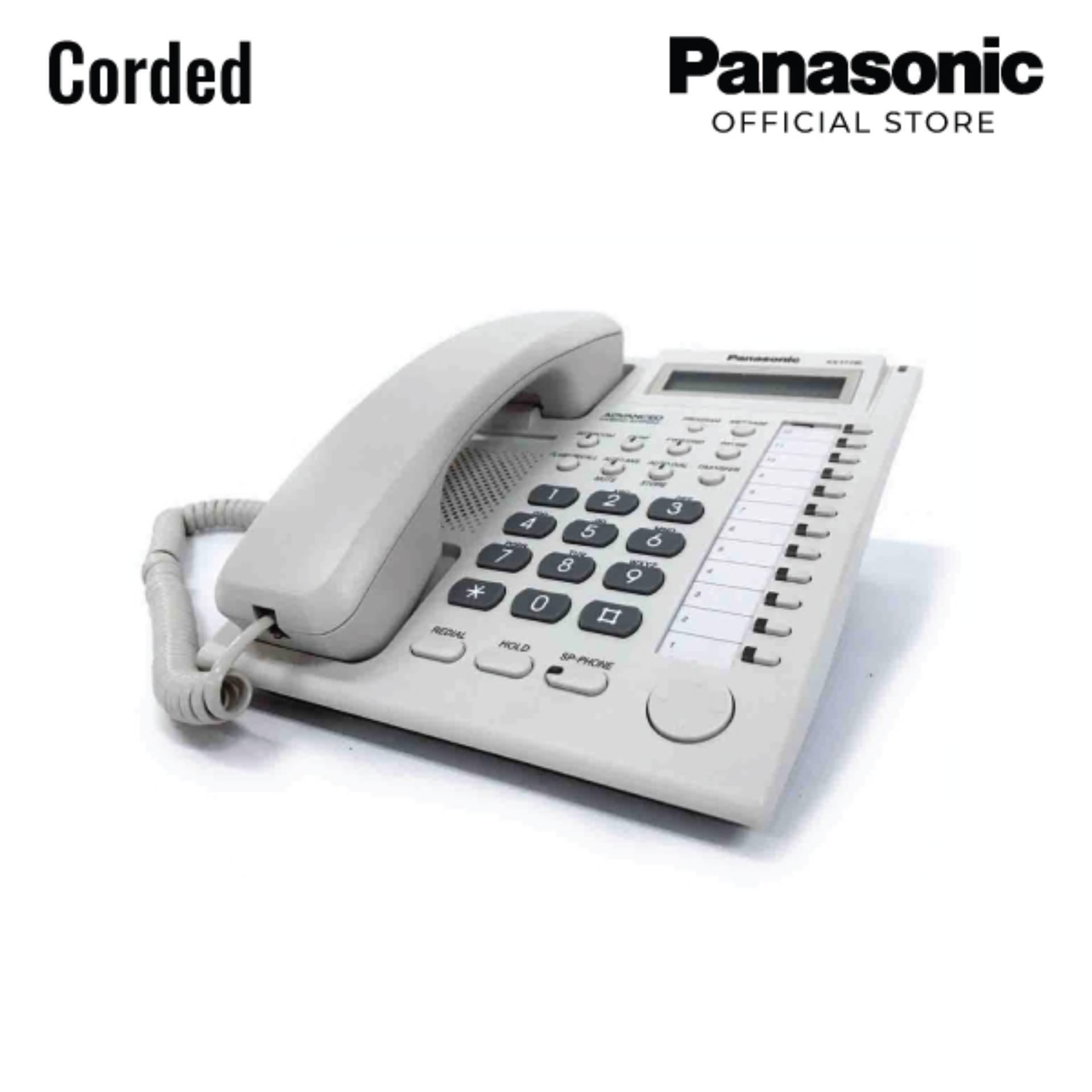 hight resolution of panasonic kx t7730x white proprietary telephone