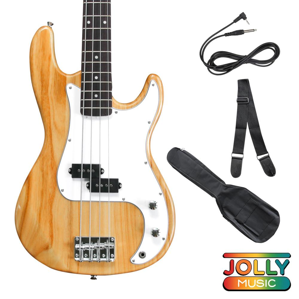 medium resolution of deviser pb electric bass guitar with cable strap and gigbag