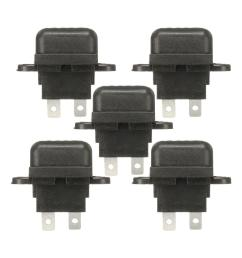 5pcs 30a amp auto blade standard fuse holder box for car boat truck with cover [ 1100 x 1100 Pixel ]