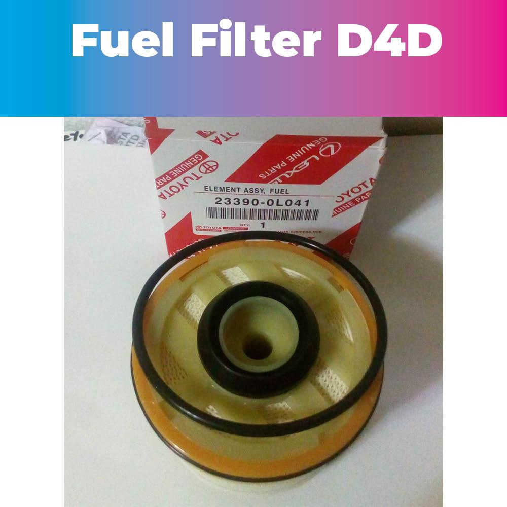 hight resolution of fuel filter for toyota innova fortuner hilux hiace d4d 23390 0l041