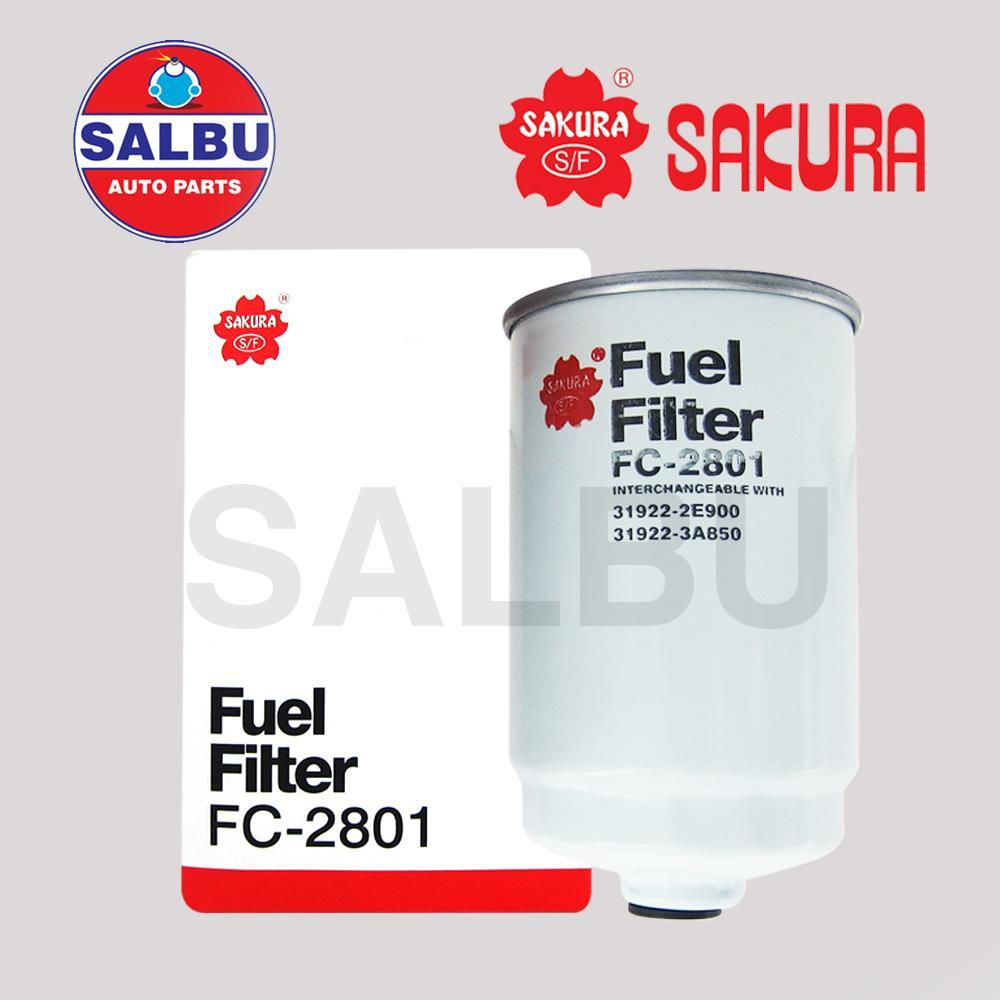 medium resolution of sakura fuel filter fc 2801 for hyundai grand starex 2008