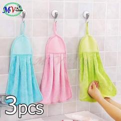 Towel For Kitchen Wholesale Sinks Dish Cloth Sale Prices Brands Review In Ref Hand Green Blue And Pink 3pcs