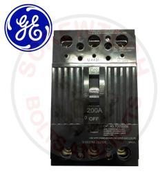 ge 200amp 10ka 240vac 3 pole q line tqd series molded case circuit breaker [ 1000 x 1000 Pixel ]
