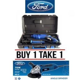 ford buy 1 take 1 impact drill 910w with pvc case fx1 11 angle grinder [ 1185 x 1200 Pixel ]