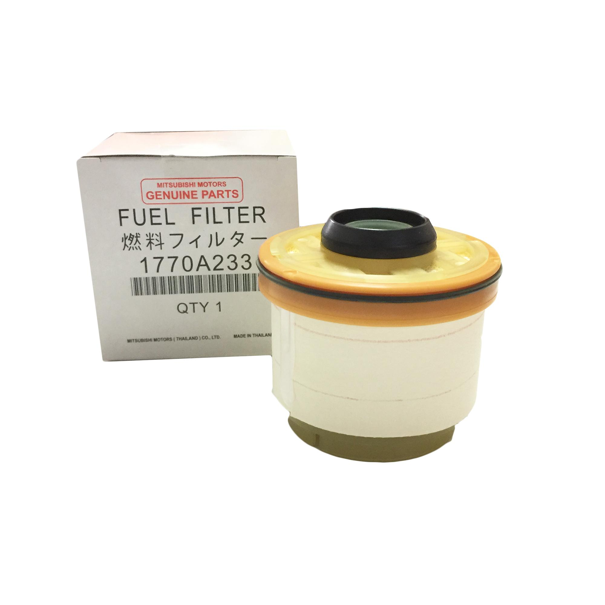 hight resolution of genuine mitsubishi auto parts fuel filter 1770a233 for mitsubishi montero 2013 2018