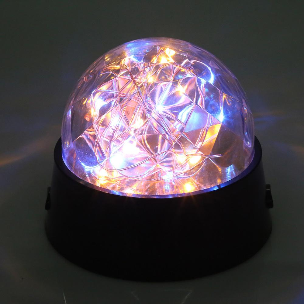 medium resolution of new romantic led firework starry light copper wire crystal ball table lamp decor night light lamp
