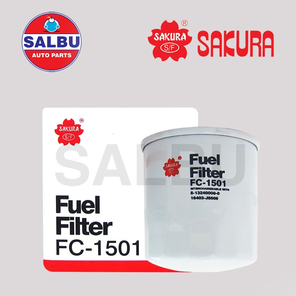 medium resolution of sakura fuel filter fc 1501 fc 208a d6014 for isuzu d