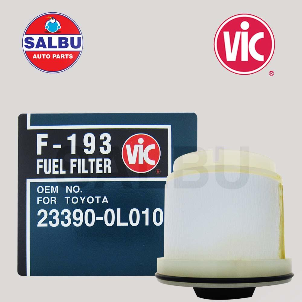 hight resolution of vic fuel filter element f 193 for isuzu dmax mu x 4jh1