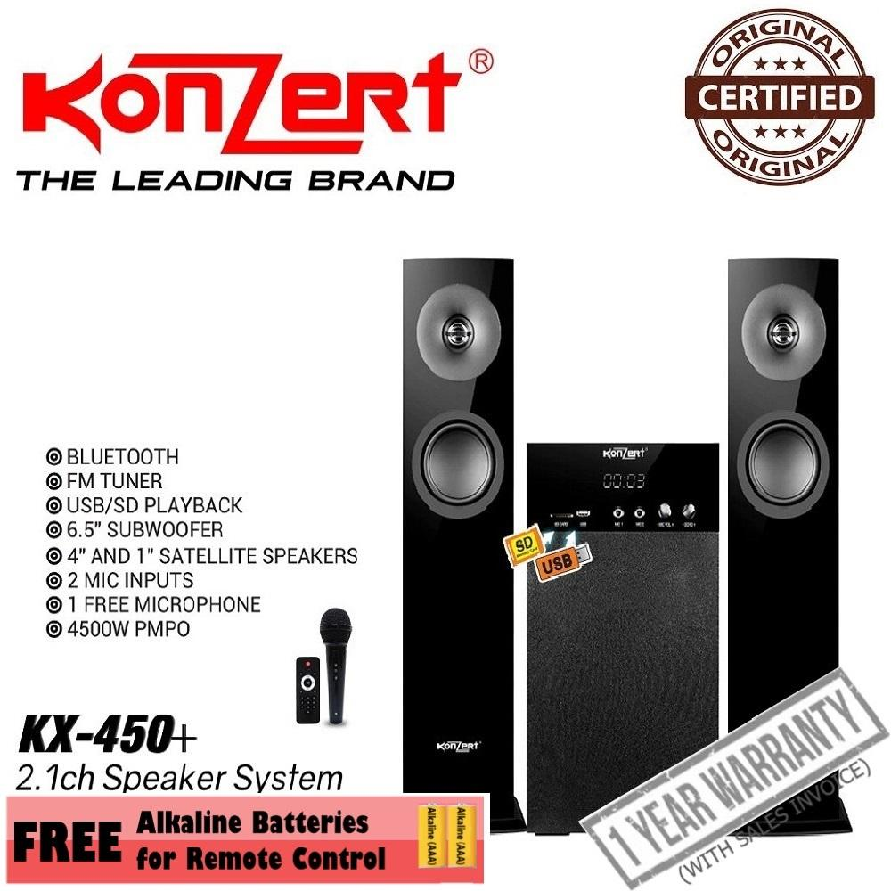 hight resolution of konzert kx 450 multimedia speaker system
