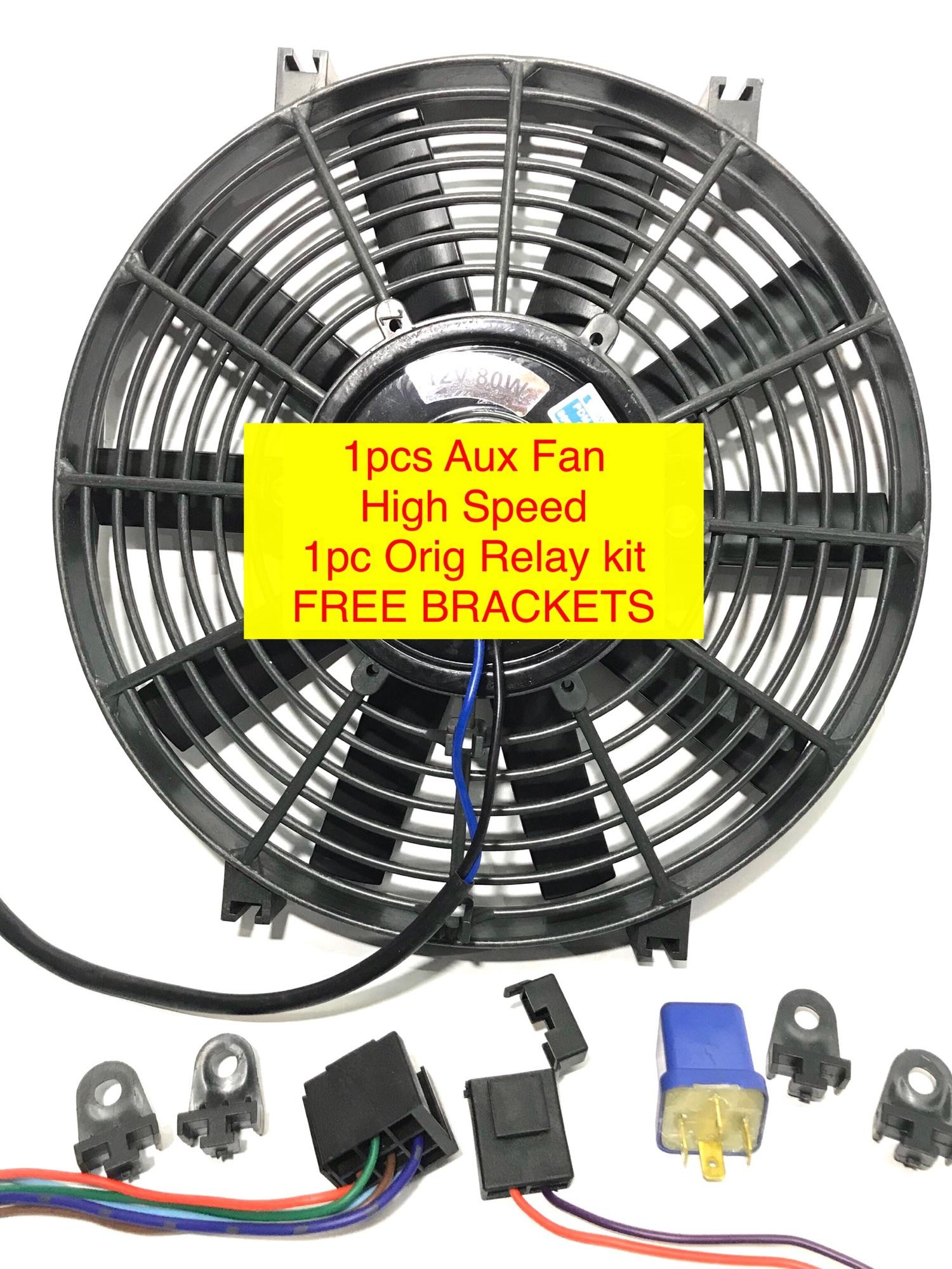 hight resolution of aux fan universal 12v original with relay kit universal car aircon parts