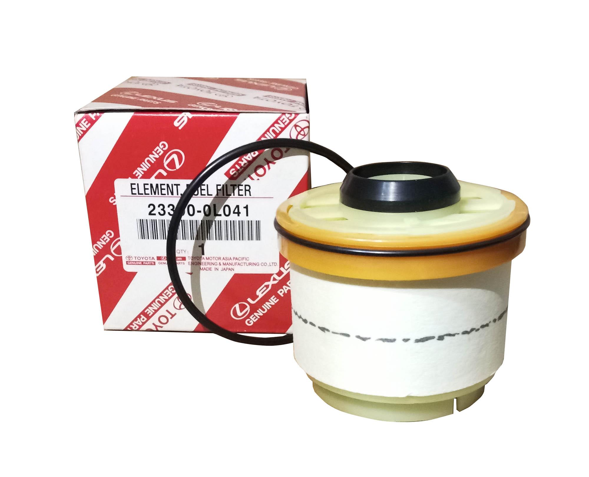 hight resolution of toyota genuine parts fuel filter 23390 0l041 for toyota innova fortuner hi