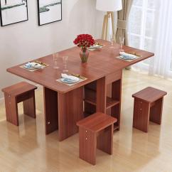 Kitchen Table Sets Butcher Block Furniture For Sale Dining Prices Brands Kruzo Florence Extendable Folding Set With 4 Chairs