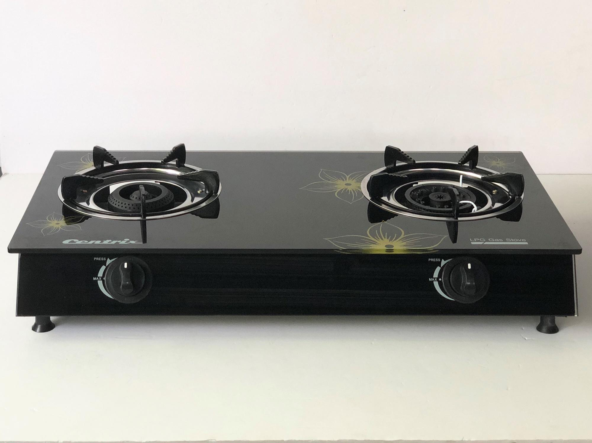 kitchen stove gas bar with stools for sale prices brands review in philippines double burner glass cx 212g