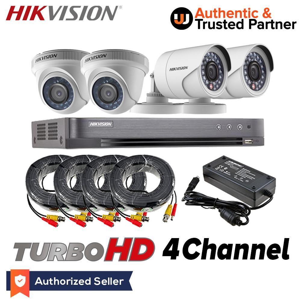 hight resolution of hikvision tvi 4ch2d2b 2mp 1080p 4ch hdtvi turbo hd surveillance cctv combo kit