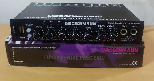 small resolution of realistic equalizer wiring diagram wiring libraryboshmann eqx 75bt professional parametric graphic equalizer