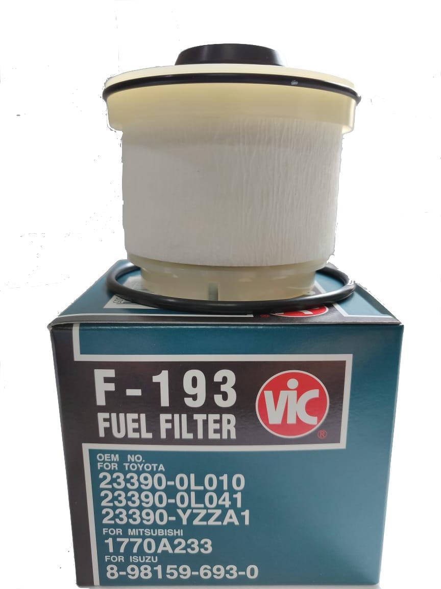 medium resolution of vic f 193 fuel filter for toyota innova 2 5 td fortuner 2 5 td vnt