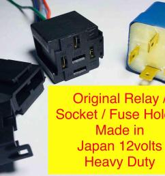 car auto relay 12v socket fuse holder like bosch original universal [ 2000 x 1453 Pixel ]