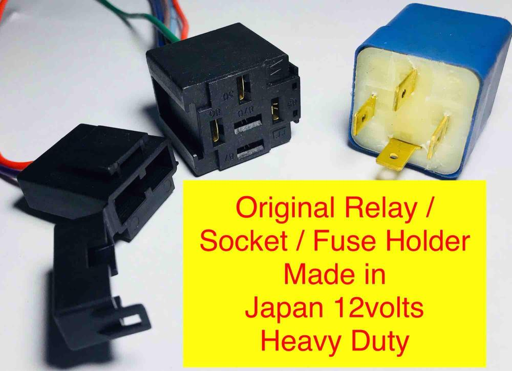 medium resolution of car auto relay 12v socket fuse holder like bosch original universal by ashleigh car aircon and
