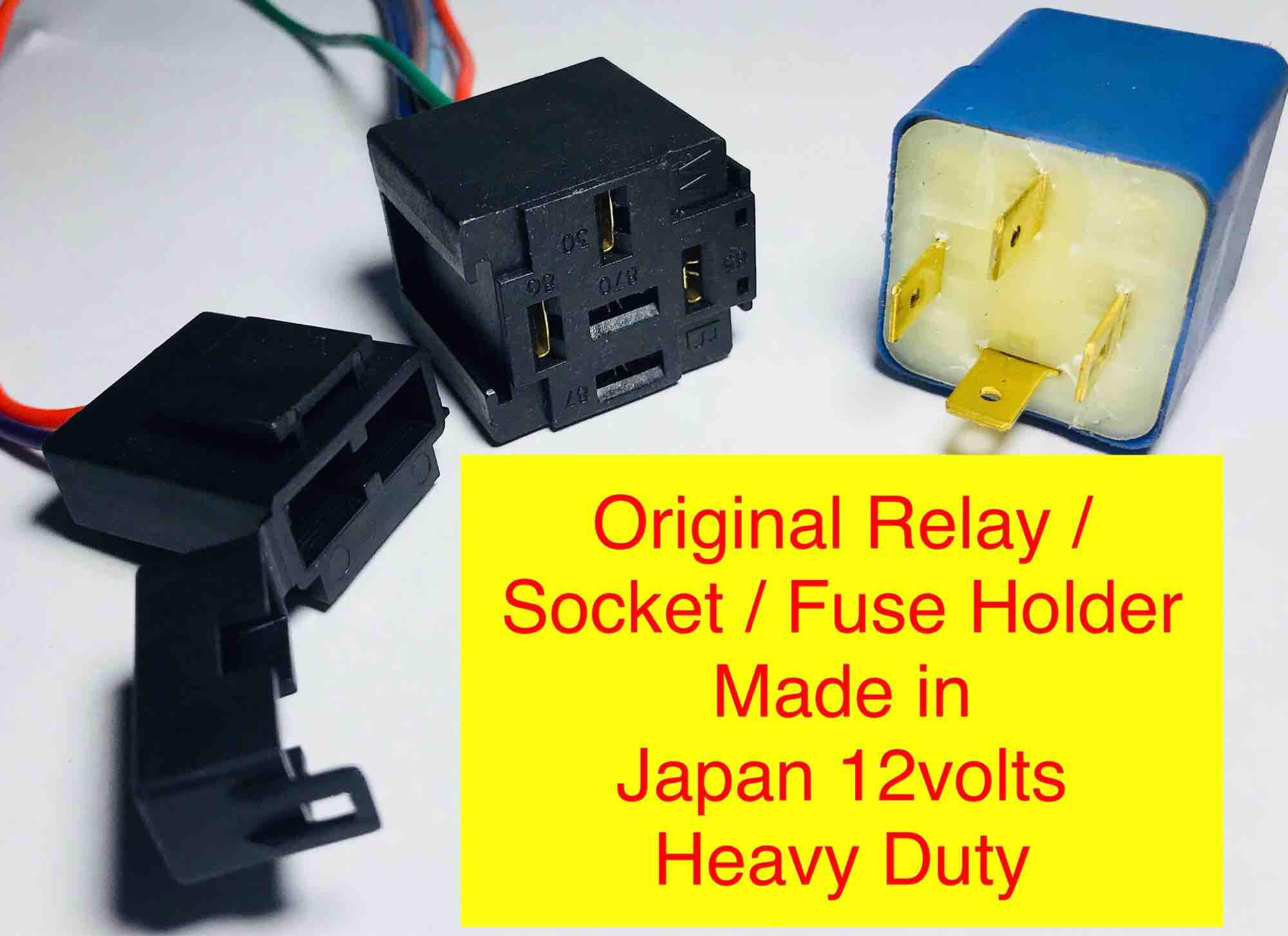 hight resolution of car auto relay 12v socket fuse holder like bosch original universal by ashleigh car aircon and
