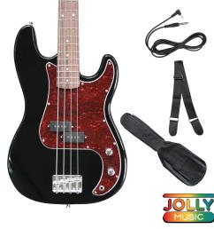 deviser pb electric bass guitar with cable strap and gigbag [ 2000 x 2000 Pixel ]
