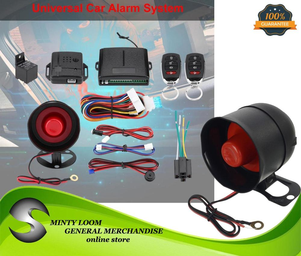 medium resolution of universal car remote control alarm keyless entry system anti theft door lock intl