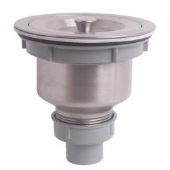 Kitchen Sink Plug Hole Fitting White Hutches For Stainless Steel Strainer Drain Stopper
