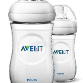Avent Natural Feeding Bottle 9 oz Twin Pack