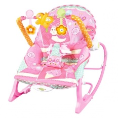 pink toddler rocking chair little tikes zover baby infant to features soft toybar with 3 fun toys machine