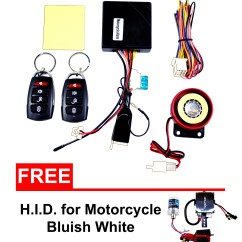 Wiring Diagram Of Motorcycle Alarm System Smart Home Spy 5000m Installation