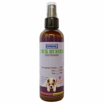 Tick Buster Fipronil Spray Treatment 100 mL for dogs and cats, anti garapata, pulgas, kuto