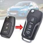 Car Remote Key Shell Remote Key Case Cover For Ford Focus Fiesta Mondeo S Max C Max Lazada