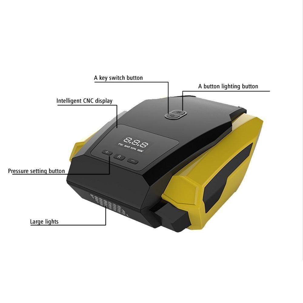 medium resolution of portable air compressor pump 12v dc auto tire inflator
