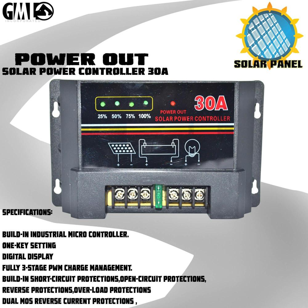 medium resolution of limited stock heavy duty solar charge controller w usb port display 30a 12v