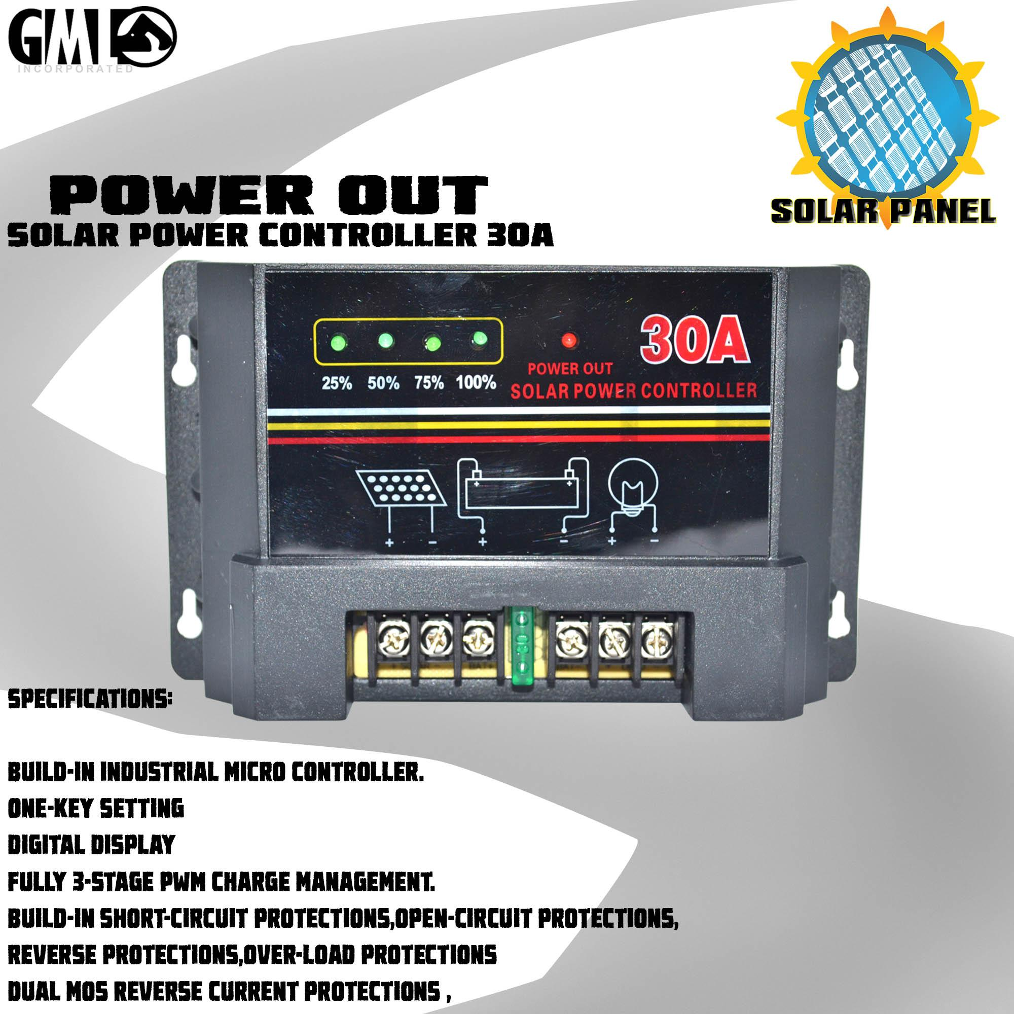 hight resolution of limited stock heavy duty solar charge controller w usb port display 30a 12v