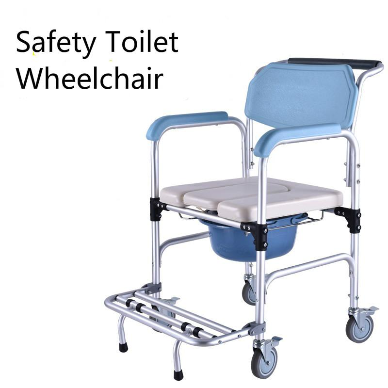 shower chair malaysia cheap game wheelchairs for the best price in with wheel commode potty aged old man sitting toilet multifunctional aluminum alloy