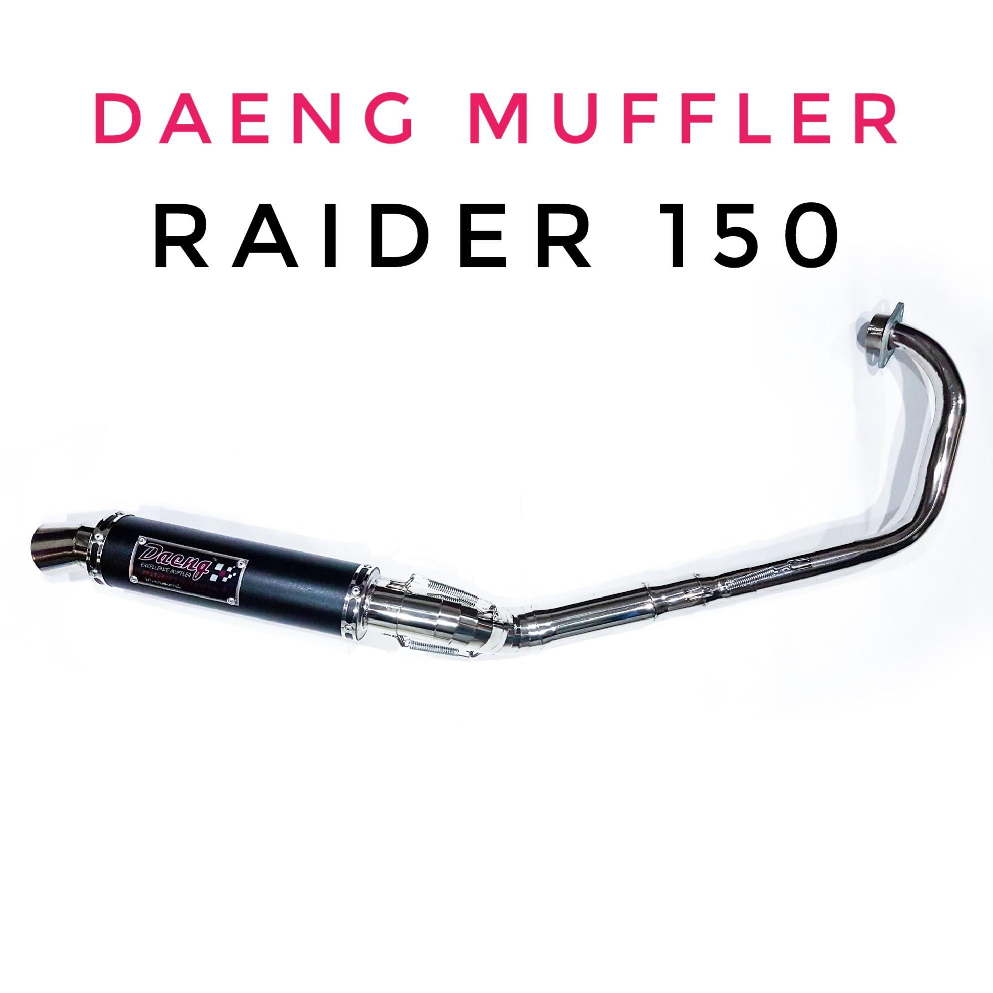 hight resolution of daeng motorcycle exhaust muffler pipe for raider 150 big elbow
