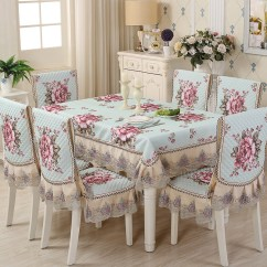 Where To Buy Chair Covers In The Philippines Purple Louis Ghost Modern Dining Cushion European Stool Sets Tablecloth Cover