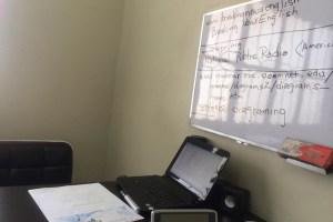 クラークフィリピン留学院の教室
