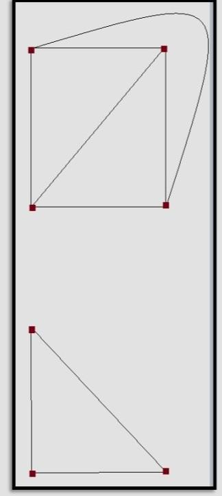 1. Show that the first graph below can be constructed for