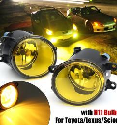 free shipping flash deal pair front fog light lamps h11 55w halogen bulbs for lexus toyota camry corolla rav4 lazada ph [ 1200 x 1200 Pixel ]