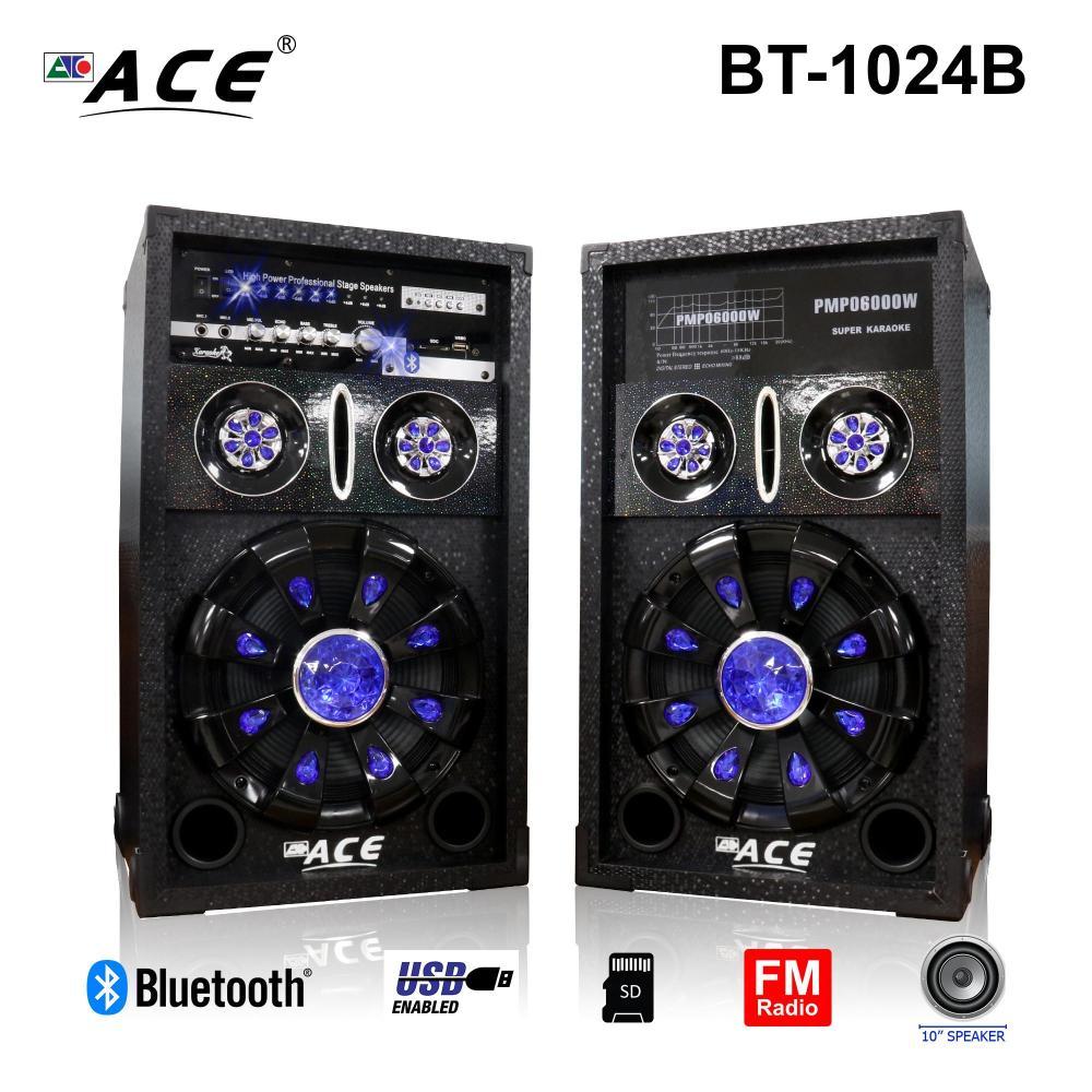 medium resolution of ace bt 1024b 10 professional sub woofer speaker with ampliflier