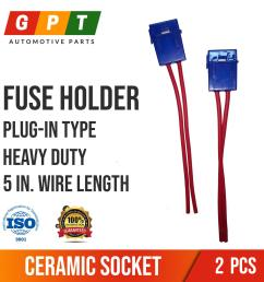 fuse holder plug in type ceramic socket  [ 1535 x 1535 Pixel ]