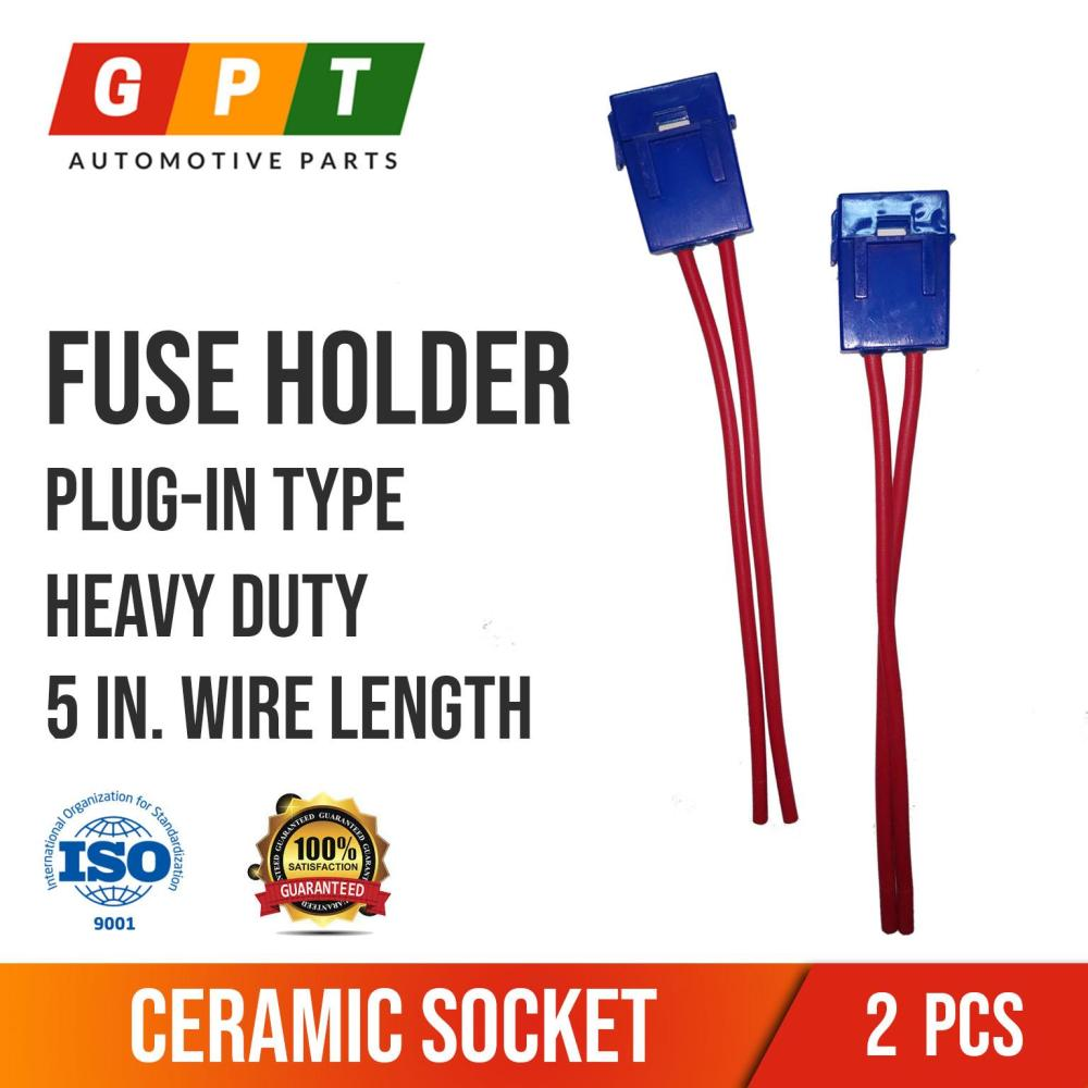 medium resolution of fuse holder plug in type ceramic socket