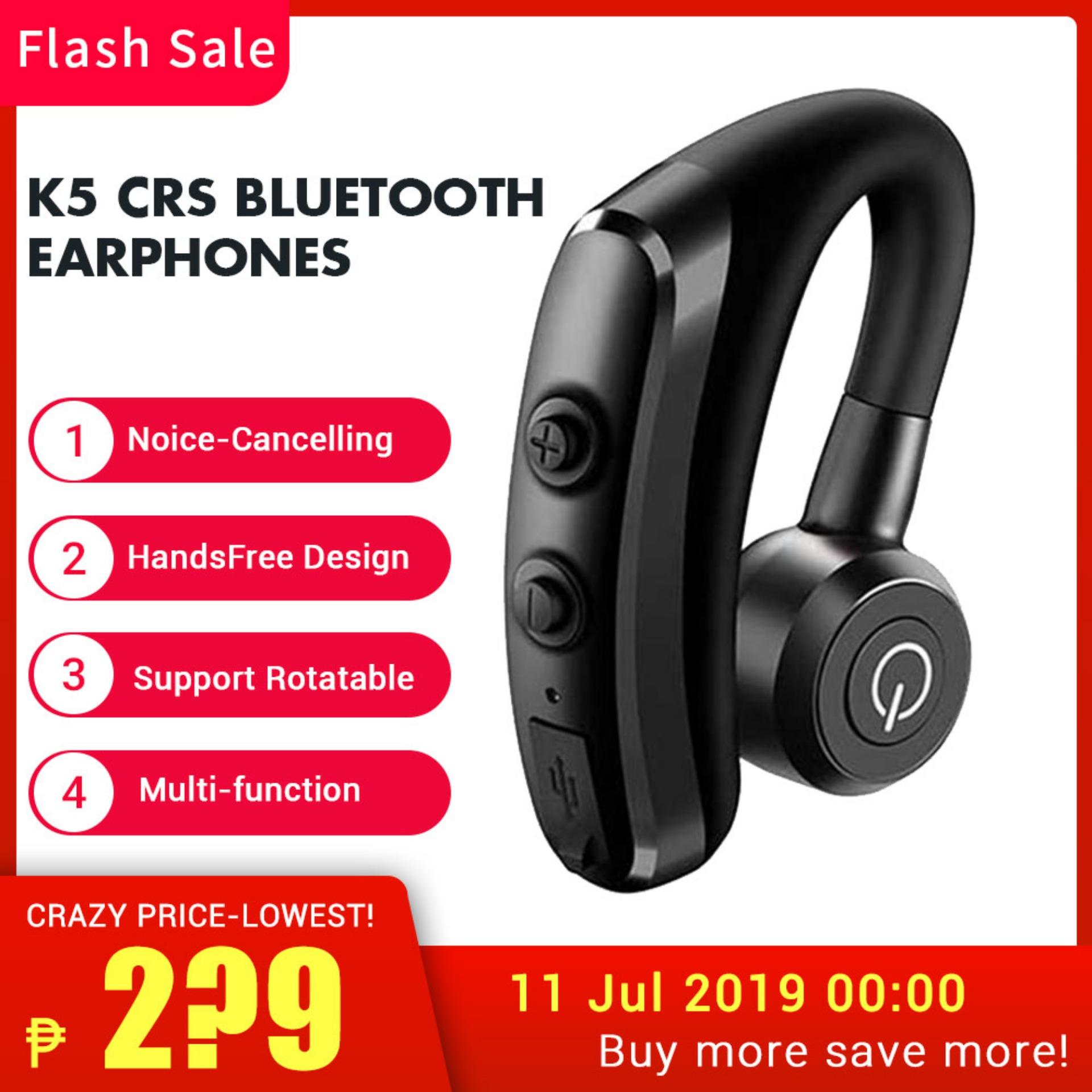 hight resolution of buyinbulk k5 csr bluetooth earphone earhook headphones k5 noice cancel bluetooth headset rotatable handsfree