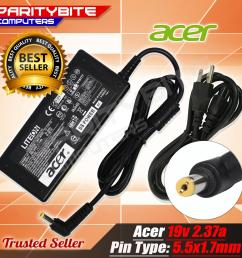 acer charger 19v 2 37a 5 5x1 7 pin for e5 721 [ 2000 x 2000 Pixel ]